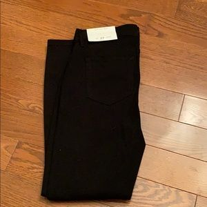 New Loft black legging jeans size -4 27